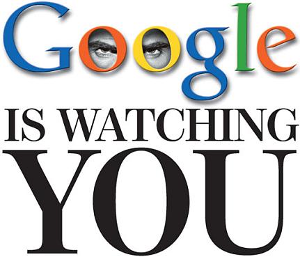 Google te regarde
